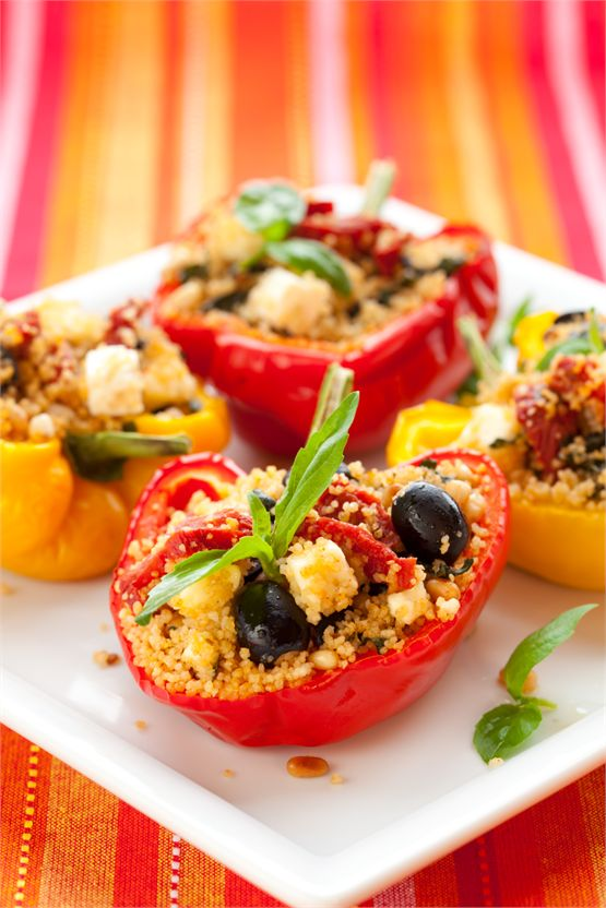 Stuffed peppers - for Recipe page on homepage