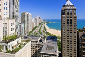 The Westin  Lakeshore Drive View