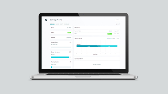 Access and display PowerUp data anywhere through a new web portal