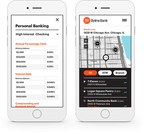 Byline Bank app demo