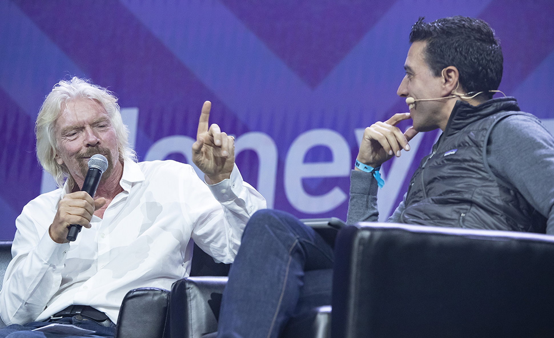 Sir Richard Branson, Money 20/20 keynote