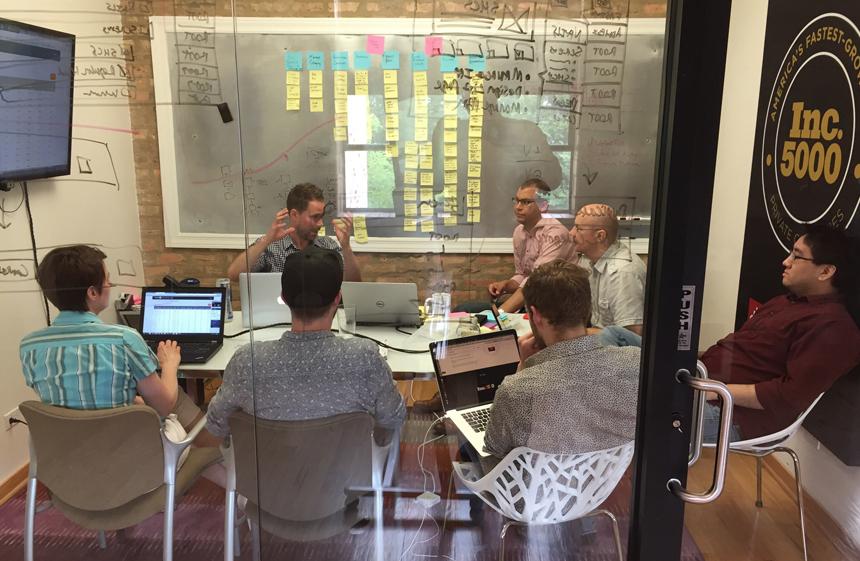 A sample workshop team