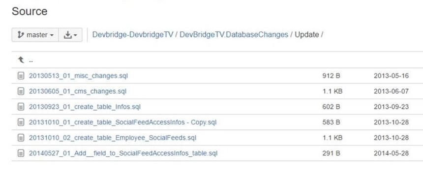 SQL file-per-migration approach