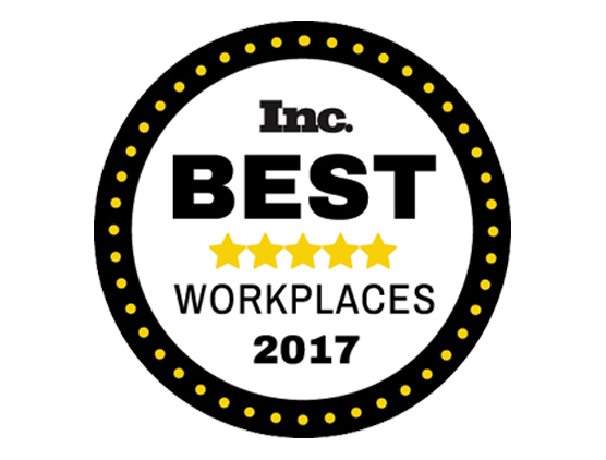 Inc. Best Workplaces 2017