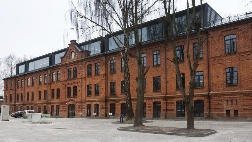 Exterior of new Devbridge office in Kaunas