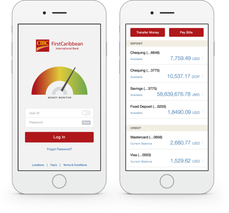 CIBC Online and Mobile Banking Applications demo
