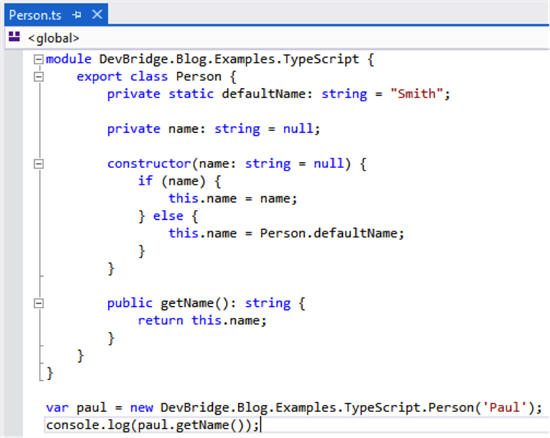 Say Hello to TypeScript · Devbridge