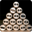 Fluorescent Lamp Recycling stack