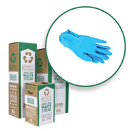 Nitrile and Latex Gloves Box