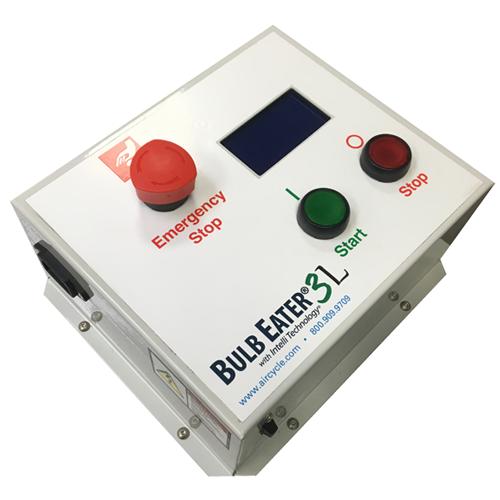Bulb Eater 3L Control panel